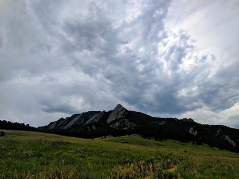 Mountain Sky Pillar