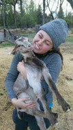 goat cuddles