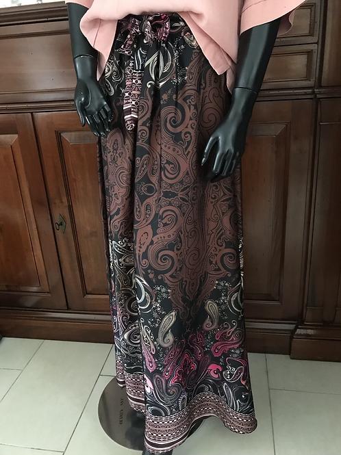 Glamour rok in warme herfstkleuren