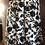 Thumbnail: Stijlvolle korte rok in wit en zwarte kleuren