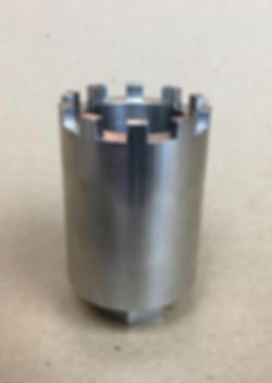 Rolls-Royce V8 oil flinger slotted nut socket