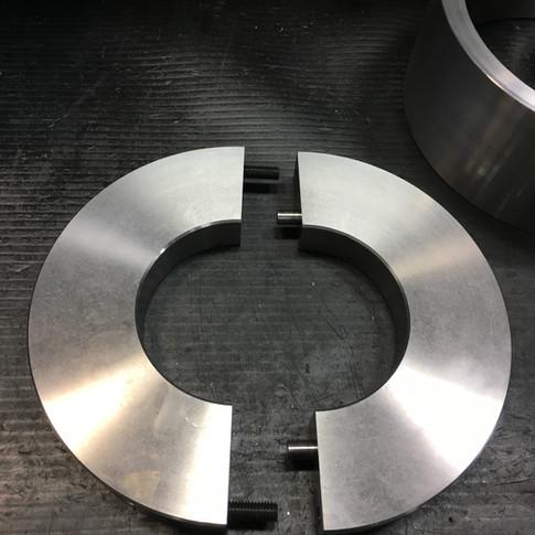 Silver Cloud rear axle press plate
