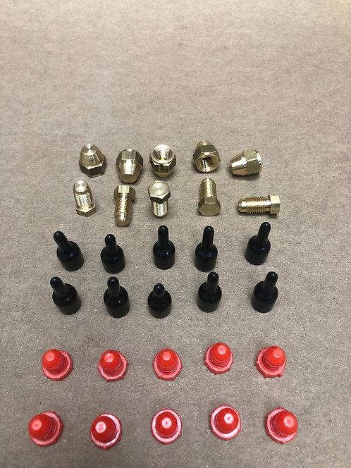 "Rolls-Royce 3/8""-24 Brake Line Caps and Plugs"