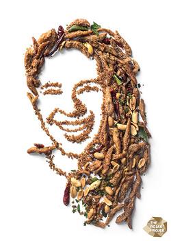 Fried Ikan Bilis with Peanuts