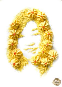 Dahlia Biscuits