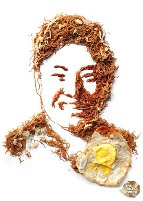 Bi Hoon Goreng Telur Mata