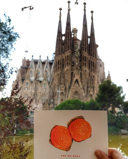 Basillica Sagrada Familia Barcelona SPAIN