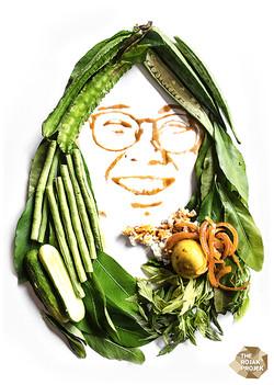 Ulam, Nasi (Rice) dan Budu Sauce