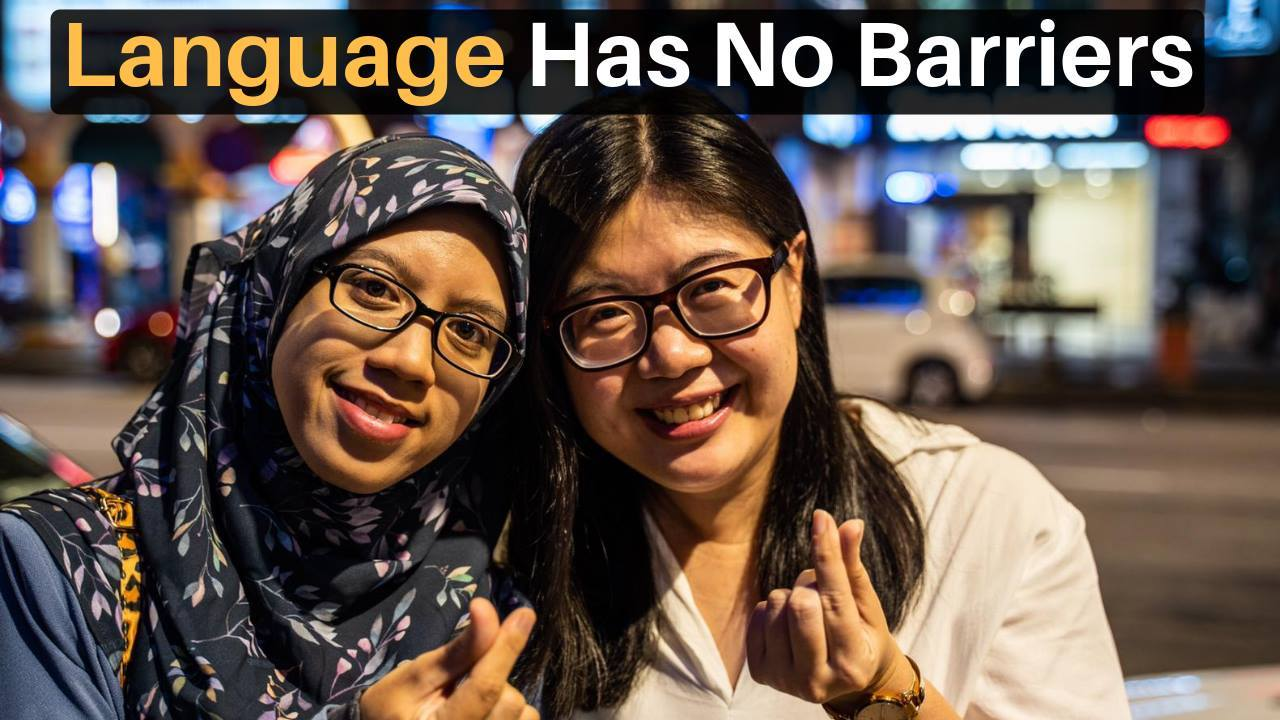 Language Has No Barriers (Deaf Friendship)