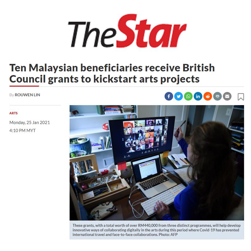 The Star x British Council x The Rojak Projek