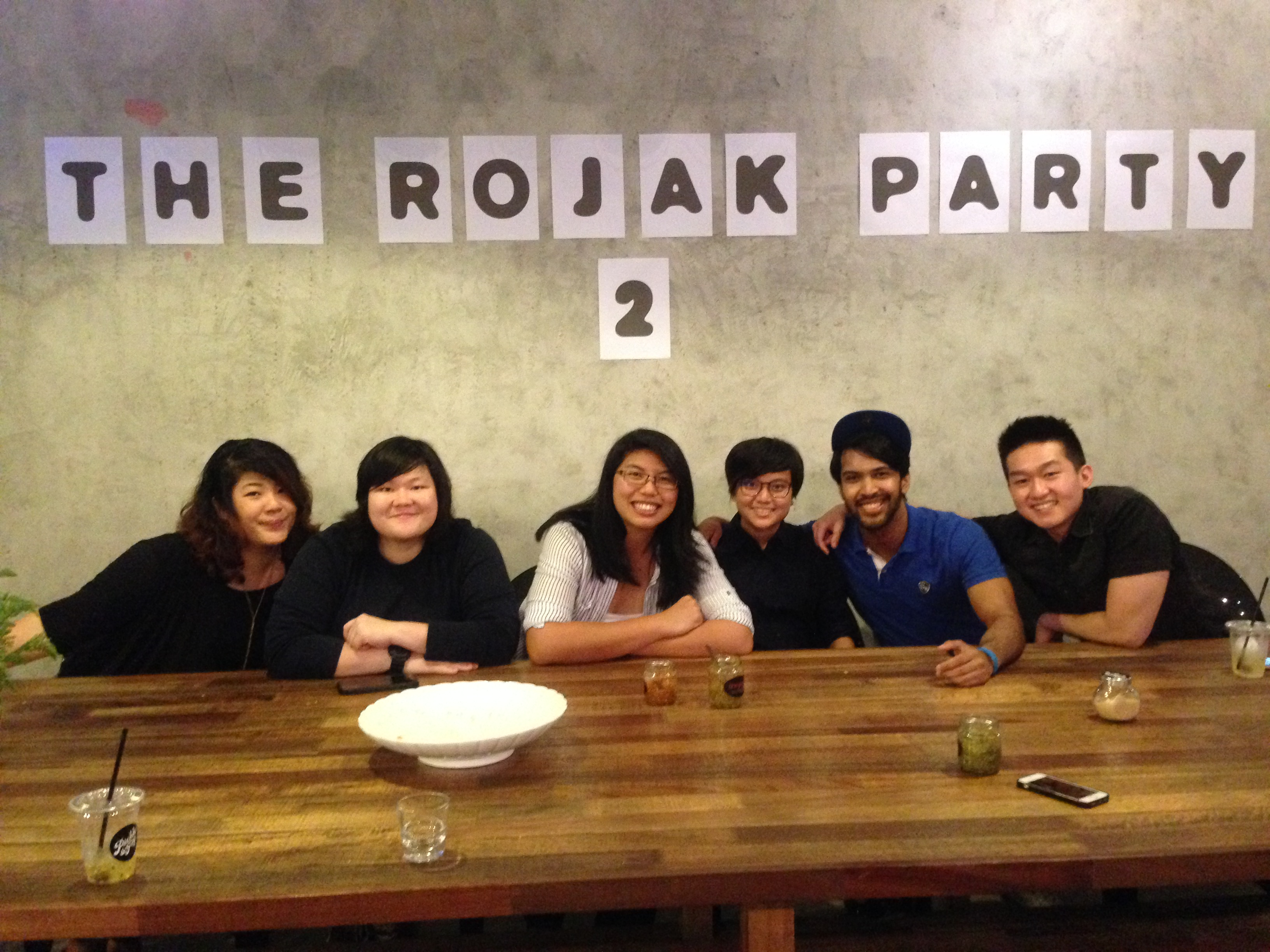 The Rojak Party #3 - Pickle & Fig