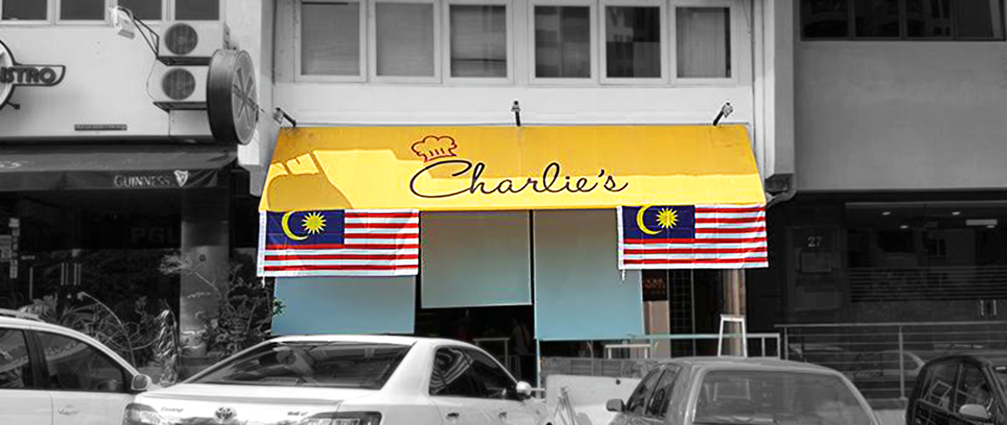 Charlie's Cafe, Taman Desa