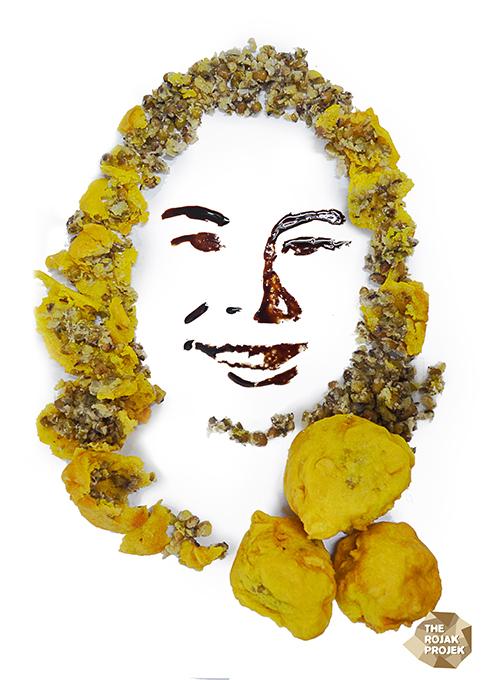 Kuih Kasturi Kacang Hijau