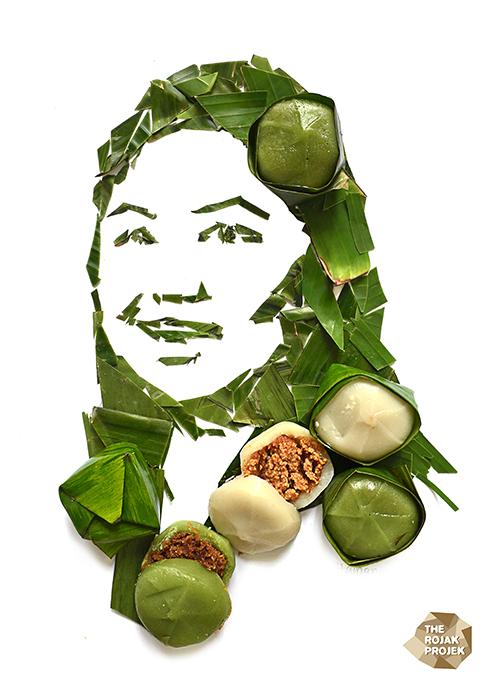 Hainanese Coconut Kuih (Yi Bua)