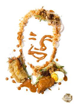 Baba Rendang Chicken Rice