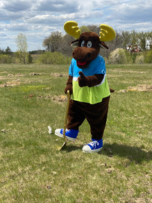 Morey the Moose Breaking ground