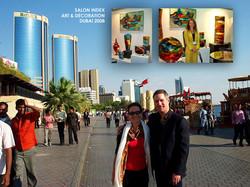 Sylvie Montagnon Glass Art in Dubai