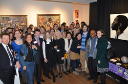 Alumni Event at Gallery