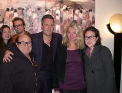 Danny Devito visits Galerie BE-Espac
