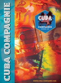 CUBA COMPAGNIE MENU