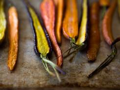 Gebratene Karotten