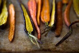 Cenouras roasted