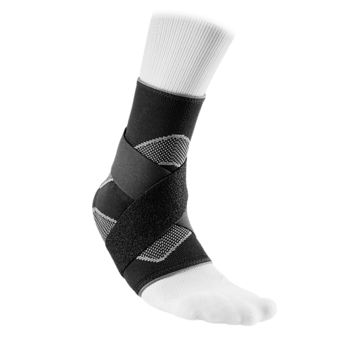 McDavid Ankle Support Sleeve Elastic With Straps [5122]
