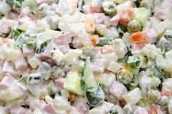 Olivie (russian potato salad)