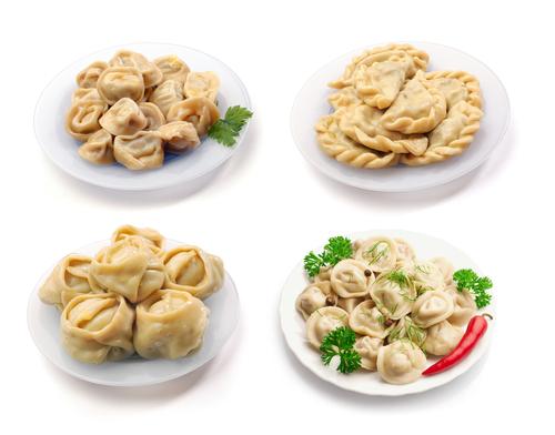 Manti, dumplings, vereniki, pelmeni
