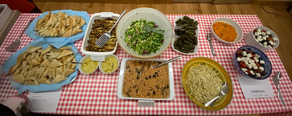 Some of the fabulous food on offer.jpg