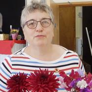 Margaret Jones with her prizewinning dah