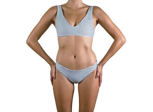 Nalu bikini top (Coconut) for women (front view)
