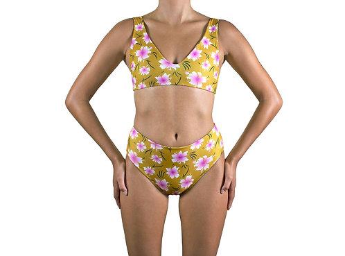 Koa bikini bottom (Tigerlily) for women (front view)
