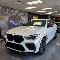 2021 BMW X6M Competition | ClearPlex Windshield Protection Film