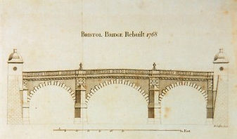 Bristol Bridge Rebuilt 1768