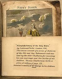 Chatterton Family Bible