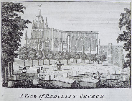 St Mary Redcliffe 1750 Rocques maps.jpg