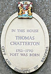 chatterton House oval memorial