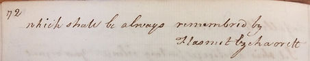 Anagram Chatterton's Signature