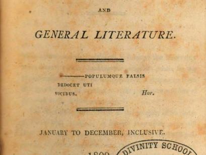 William Seward's Description of Chatterton.