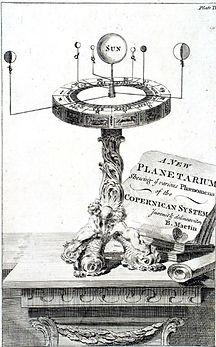 PLANETARIUM COPERNICAN SYSTEM PASTPAGES