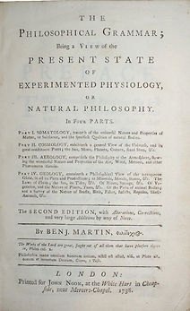 Benjamin Martin Philosophical Grammar.jp