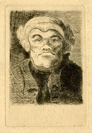 Caricature of Dr. Michael Lort