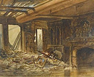 canynges House Fire 1881 E.H.Parkman