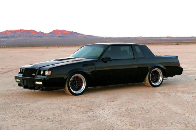 '87 Buick Grand National - Dicky's Doghouse Favorite cars