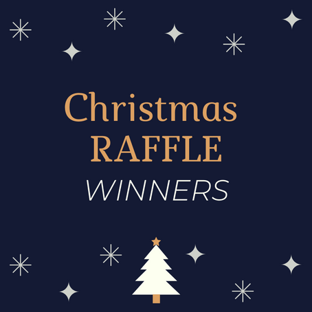 Christmas Raffle Winners 2019