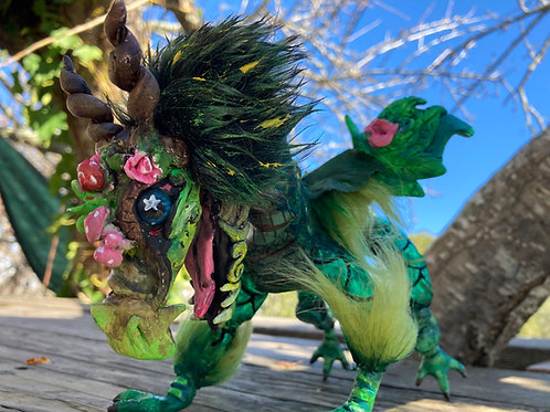 OOAK ART DOLL - Fern valley Dragon
