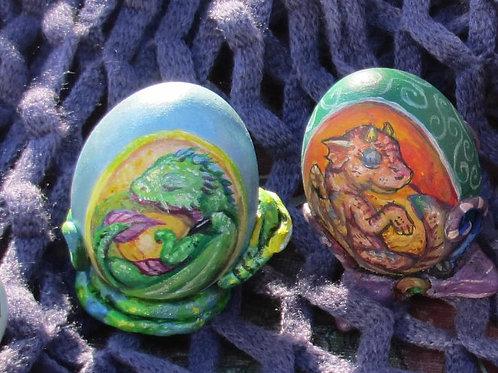 Fantasy Egg Painting