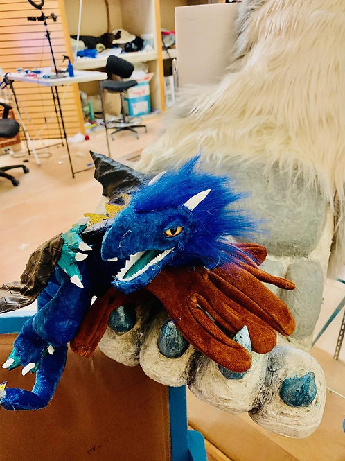 Fuego The Firedrake! Pro Hand Puppet!