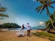Pre wedding na praia das conchas